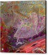 Creative Sounds Digital Banjo And Guitar Art By Steven Langston Acrylic Print by Steven Lebron Langston