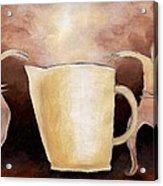 Creator Of The Coffee Acrylic Print by Keith Gruis