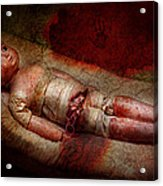 Creepy - Weird - No One Ever Suspected  Acrylic Print by Mike Savad