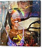Creolization - Descendants Surviving Tribalism Acrylic Print by Fania Simon