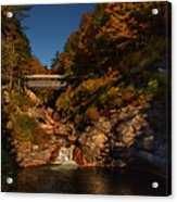 Crossing Over Acrylic Print by Jeff Folger