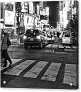 Crosswalk Acrylic Print by Dan Sproul