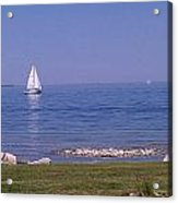 cruisin down the Bay on a Sunday afternoon Acrylic Print by Dawn Koepp