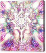 Crystal Palace Acrylic Print by Jalai Lama