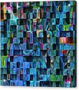 Cubed 3 Acrylic Print by Jack Zulli