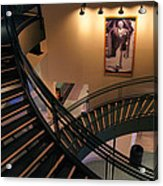 Curly's Stairway Acrylic Print by Bill Pevlor