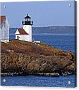 Curtis Island Lighthouse Acrylic Print by Skip Willits
