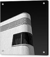 Curved Window Acrylic Print by Dave Bowman