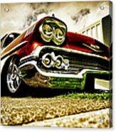 Custom Chevrolet Bel Air Acrylic Print by motography aka Phil Clark