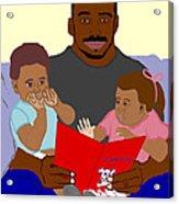 Daddy's Bundles Acrylic Print by Pharris Art