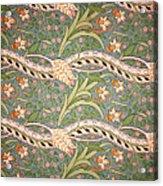 Daffodil Chintz Acrylic Print by John Henry Dearle