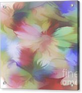 Daisy Floral Abstract Acrylic Print by Tom York Images