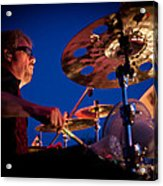 Dale Keeney Of The Fabulous Kingpins Acrylic Print by David Patterson