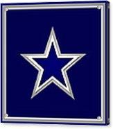 Dallas Cowboys Acrylic Print by Tony Rubino