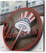 Damn Yankees Acrylic Print by David Bearden