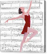 Dance To The Music Acrylic Print by Steve K