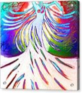 Dancer 4 Acrylic Print by Anita Lewis