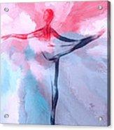 Dancing In Heaven Acrylic Print by Stefan Kuhn