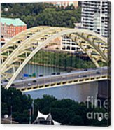 Daniel Carter Beard Bridge Cincinnati Ohio Acrylic Print by Paul Velgos