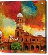 Darbar Mahal Acrylic Print by Catf