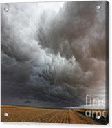 Dark Storm Clouds Acrylic Print by Boon Mee