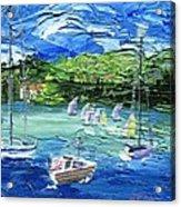 Darling Harbor II Acrylic Print by Jamie Frier