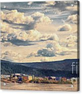 Dawson City Acrylic Print by Priska Wettstein