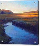 Daylight's End Acrylic Print by Ed Chesnovitch