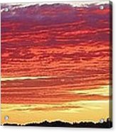 Days End Acrylic Print by Bruce Bley