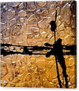 Decorative Abstract Giraffe Print Acrylic Print by Holly Anderson