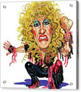 Dee Snider Acrylic Print by Art