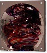 Deep Reds Prr1 Acrylic Print by David Patterson