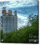 Delray Tower Acrylic Print by MJ Olsen