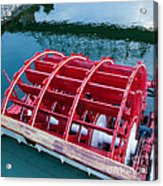Delta Queen Paddle Wheel Acrylic Print by Kay Pickens