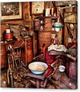 Dentist - The Doctor Will Be With You Soon  Acrylic Print by Mike Savad