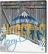 Denver Nuggets Acrylic Print by Joe Hamilton