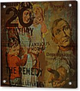 Depression In The 20th Century - 2 Acrylic Print by Jeff Burgess