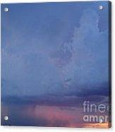 Desert Rainstorm 3 Acrylic Print by Kerri Mortenson