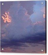 Desert Rainstorm 5 Acrylic Print by Kerri Mortenson