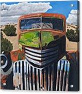 Desert Varnish Acrylic Print by Jack Atkins