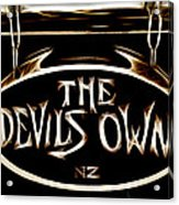 Devils Own Acrylic Print by Phil 'motography' Clark