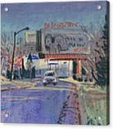 Discount Tire Acrylic Print by Donald Maier