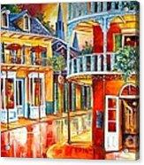 Divine New Orleans Acrylic Print by Diane Millsap