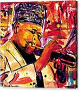 Dizzy Gillespie Acrylic Print by Everett Spruill