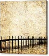 Dock 2 Acrylic Print by Skip Nall