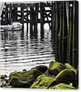 Dockside 2 Acrylic Print by JC Findley