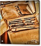 Doctor -  Medical Field Kit Acrylic Print by Paul Ward