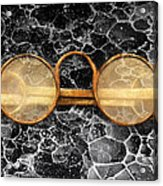 Doctor - Optometrist - Glasses Sold Here  Acrylic Print by Mike Savad