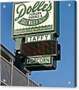 Dolle's Acrylic Print by Skip Willits