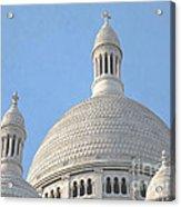Dome Of Sacre-coeur Acrylic Print by Ann Horn